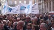 La delegazione fiorentina alla manifestazione di Roma. Lo sciopero proclamato dal 28 Febbraio al 7 Marzo.